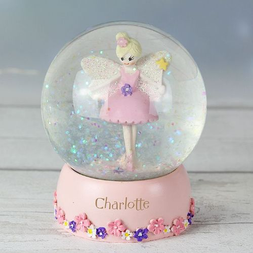 Fairy Any Name Snow Globe